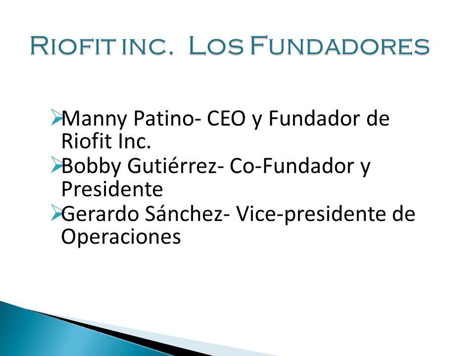 Manny Patino- CEO y Fundador de Riofit Inc.