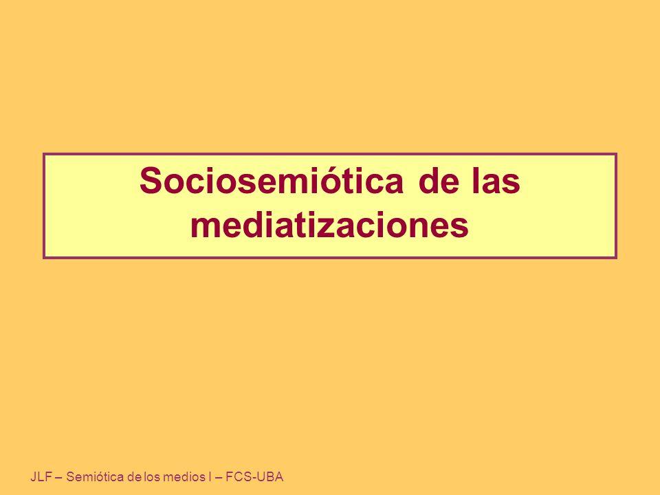 Síntesis general Lo social: Efecto de series Emisor Receptor .