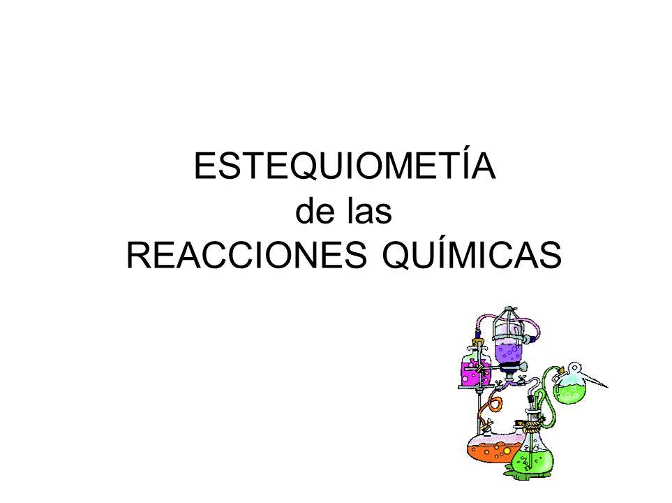 Para facilitar el estudio (cualitativo y cuantitativo) de los cambios de composición de los sistemas materiales, se suele utilizar una expresión simbólica de este proceso conocida como ecuación química.