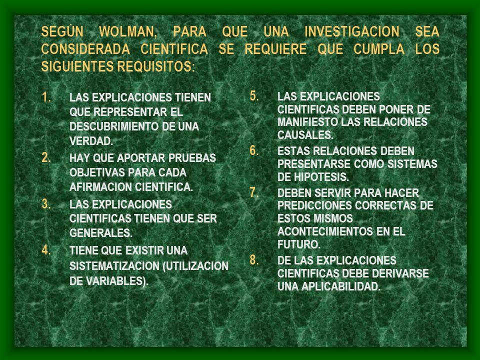 HECHOS Y TEORIAS EL CIENTIFICO, CUANDO SE PLANTEA UNA INVESTIGACION, SE PROPONE CONOCER LA NATURALEZA DE CIERTOS FENOMENOS Y SUS RELACIONES CON OTROS, EN FUNCION DE UNA SERIE DE CIRCUNSTANCIAS.