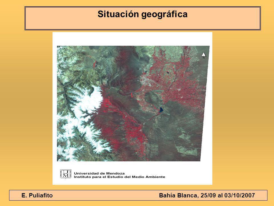 E. Puliafito Bahía Blanca, 25/09 al 03/10/2007 Situación geográfica