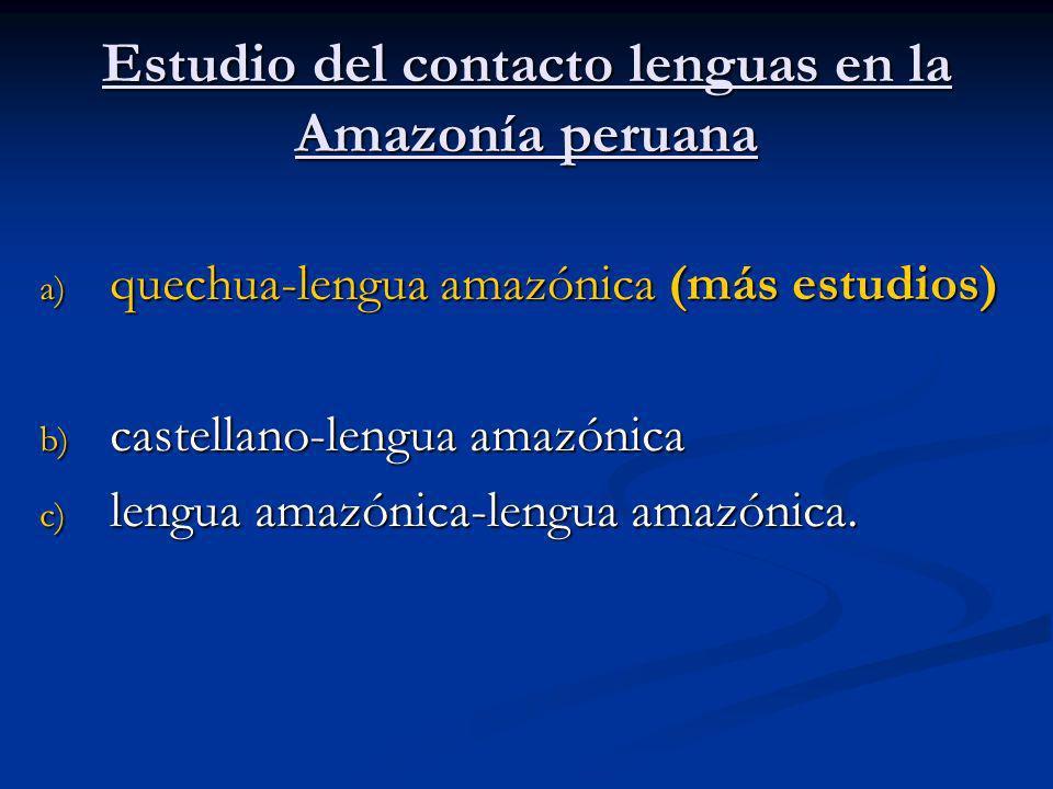Los estudios lingüísticos sobre el contacto de lenguas se han apoyado en otras ciencias como la arqueología y la historia Fuentes: http://images.google.com/imgres?imgurl=http://www.rediscovermachupicchu.com/img-map-of-the-inca-empire-02- l.gif&imgrefurl=http://www.rediscovermachupicchu.com/04- 04.htm&h=3200&w=1730&sz=207&hl=en&start=8&tbnid=NK7ULY3m3UKzJM:&tbnh=150&tbnw=81&prev=/images%3Fq%3Dinca%26gbv%3 D2%26svnum%3D10%26hl%3Den/