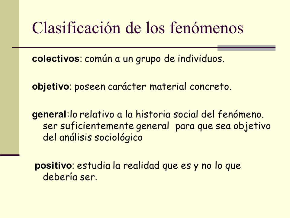Clasificación General las ciencias sociales Sociología Política Economía Antropología psicología