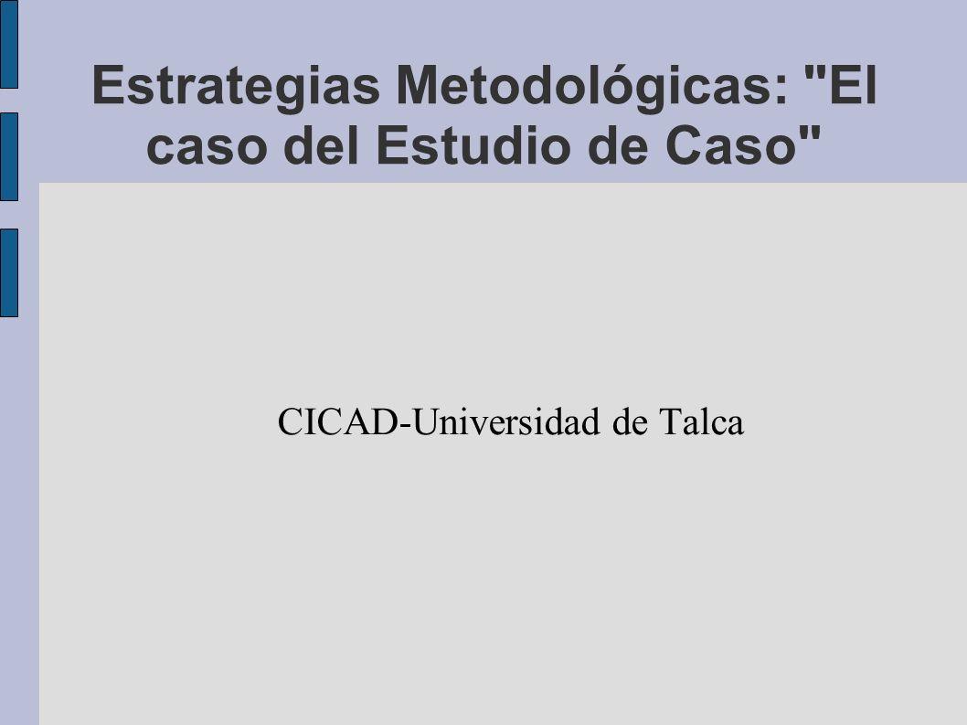 Estrategias Metodológicas: