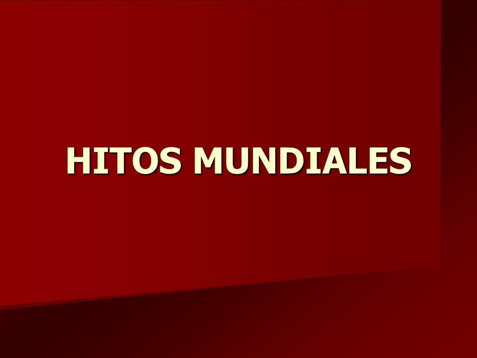 HITOS MUNDIALES