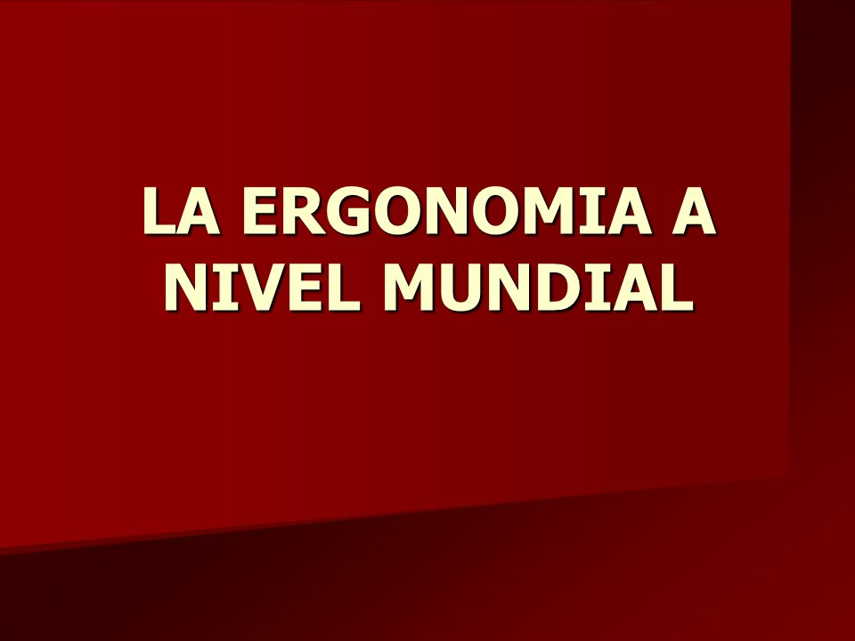 AREAS DE ESPECIALIZACION 5.Ergonomía de concepción 1.Diseño ergonómico de productos 2.Diseño ergonómico de sistemas.