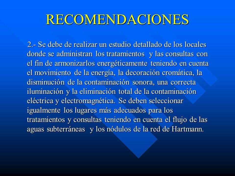 RECOMENDACIONES 1.- Se hace necesario remodelar la piscina termal de forma tal que las personas no se bañen directamente en la fuente. Esto se pudiera