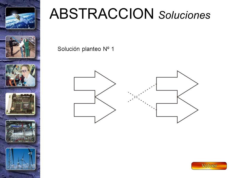 ABSTRACCION Soluciones Solución planteo Nº 1