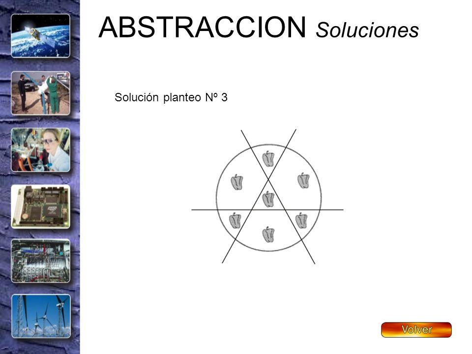 ABSTRACCION Soluciones Solución planteo Nº 3