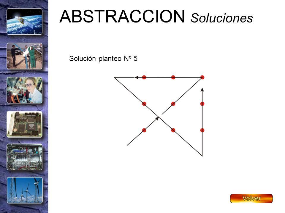 ABSTRACCION Soluciones Solución planteo Nº 5
