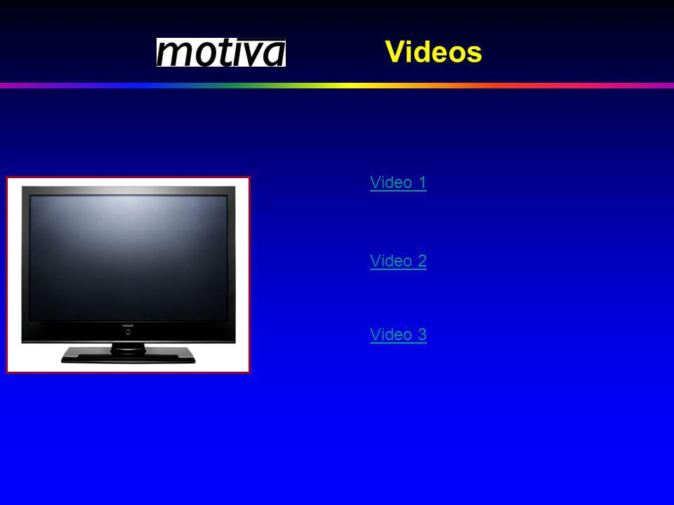 Videos Video 1 Video 2 Video 3