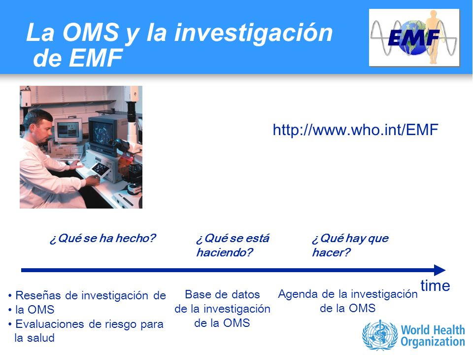Characterizing evidence in EMF risk assessment, Berlin, 4-5 May 2006 Agencias financiadoras