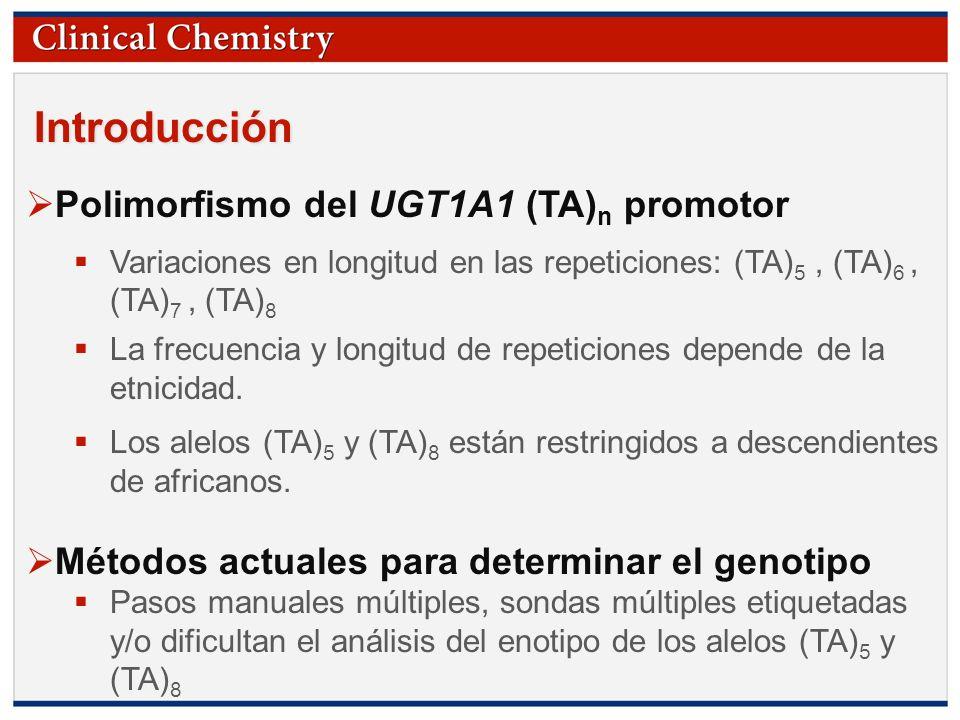 © Copyright 2009 by the American Association for Clinical Chemistry Pregunta ¿Porqué depende la precisión del genotipo del instrumento?