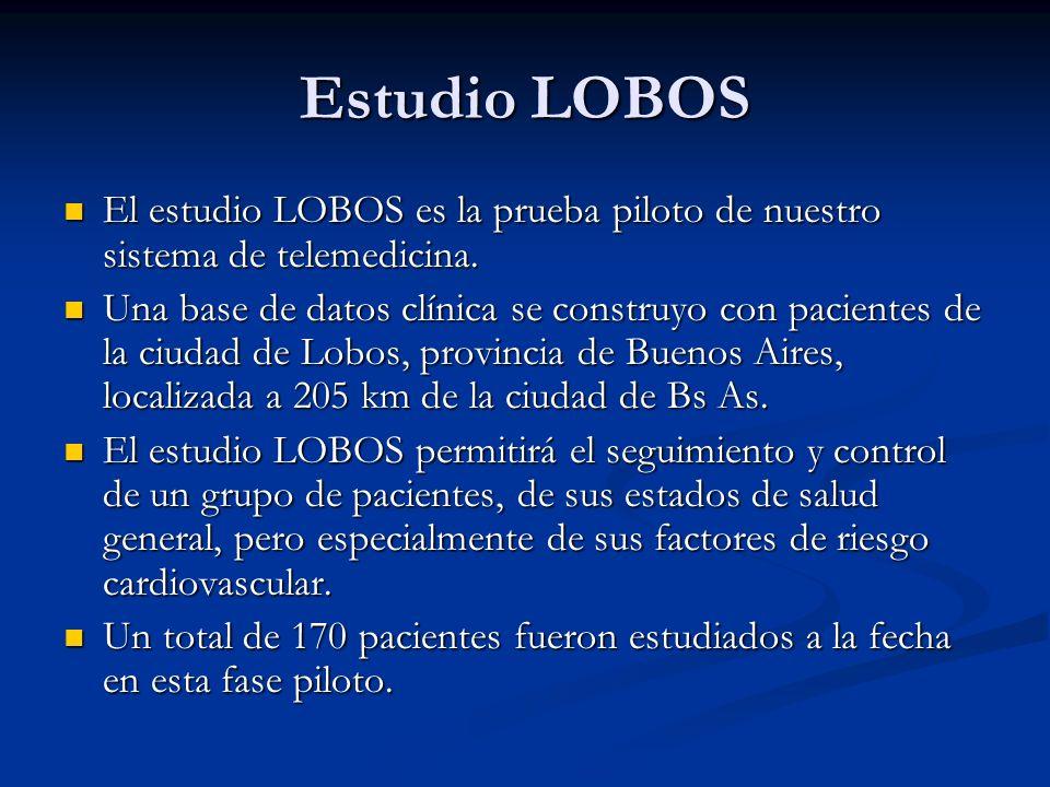 Estudio LOBOS El estudio LOBOS es la prueba piloto de nuestro sistema de telemedicina. El estudio LOBOS es la prueba piloto de nuestro sistema de tele