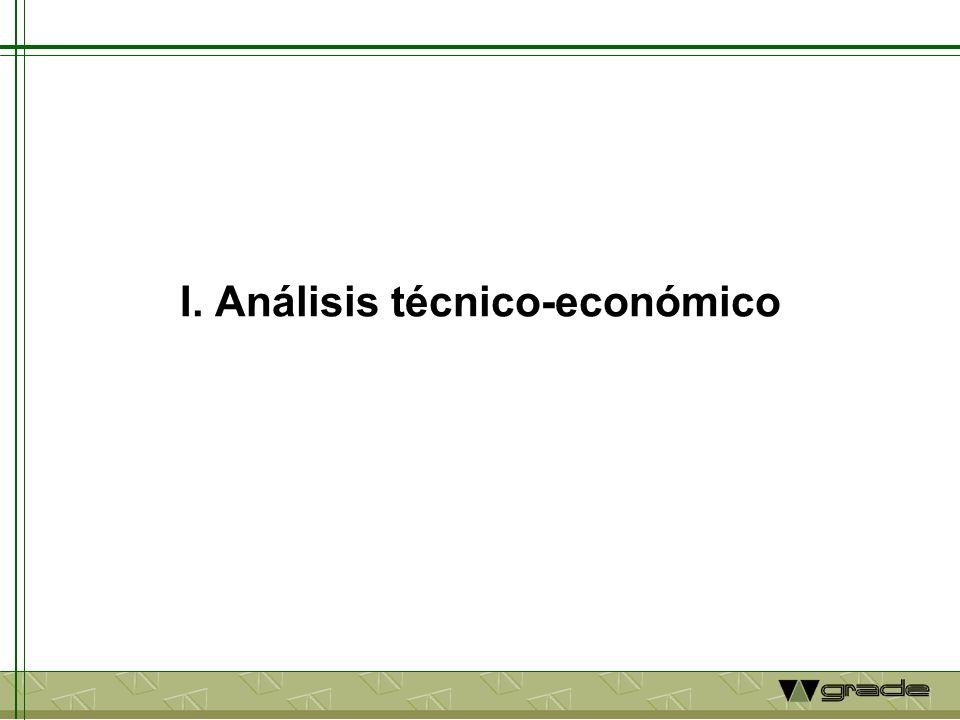 I. Análisis técnico-económico