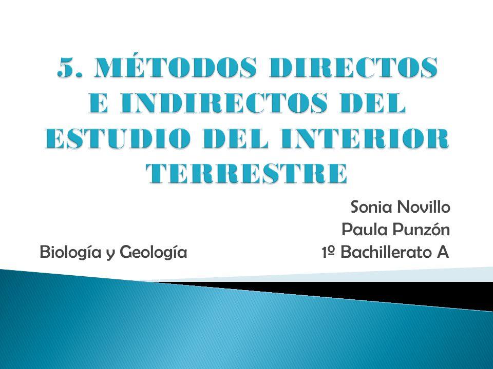Sonia Novillo Paula Punzón Biología y Geología 1º Bachillerato A