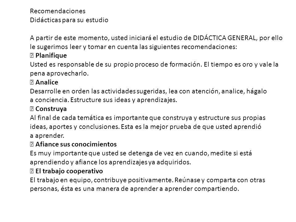 Clasificación de las Ciencias de la Educación Clasificación interna de la Didáctica a.