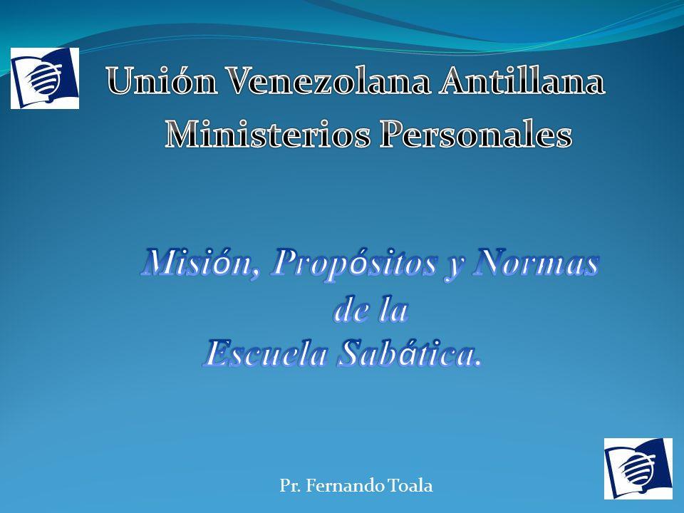 Pr. Fernando Toala