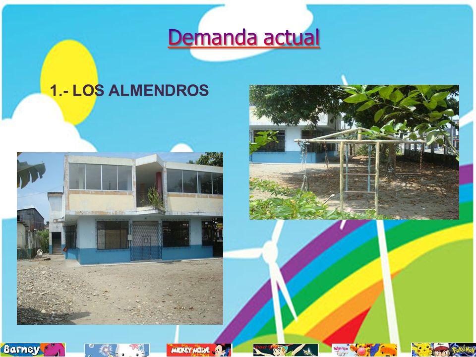 1.- LOS ALMENDROS