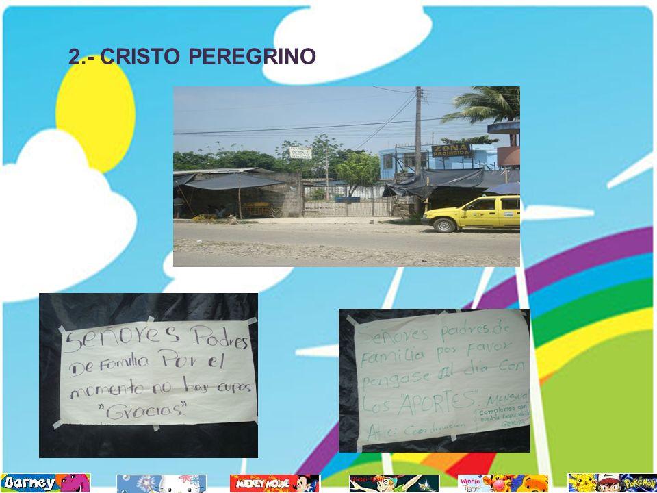 2.- CRISTO PEREGRINO