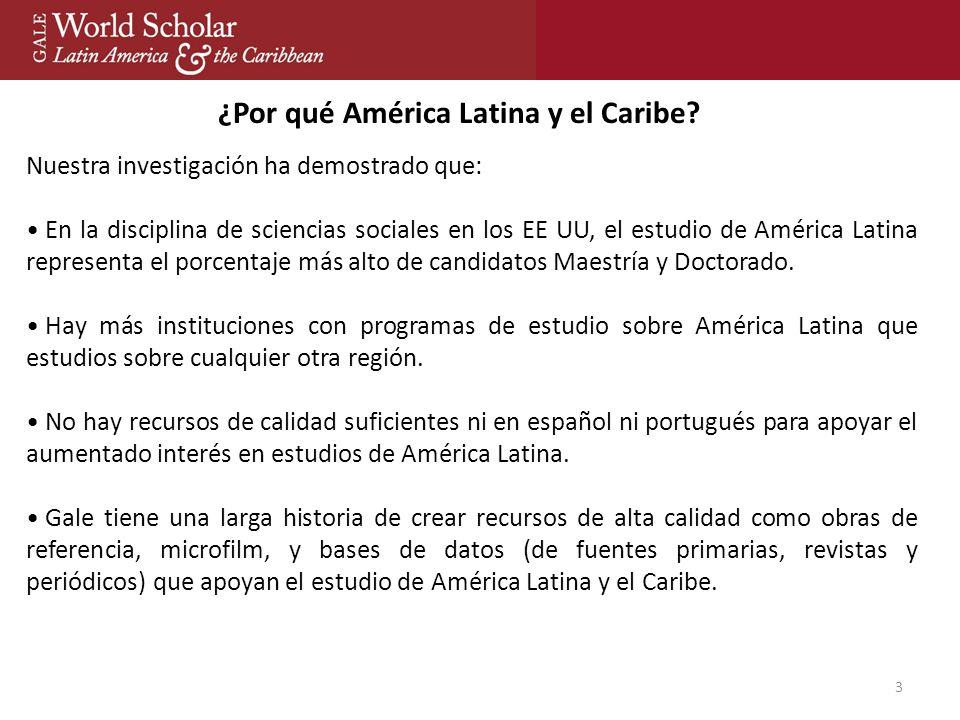3 ¿Por qué América Latina y el Caribe.