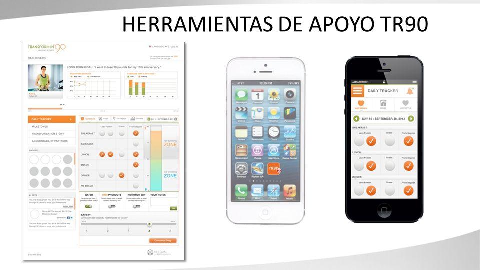HERRAMIENTAS DE APOYO TR90