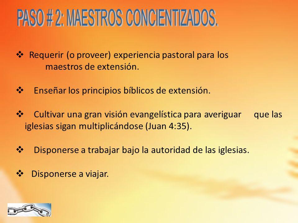 1)Enseñen a las iglesias recién nacidas a ______________________para continuar la reproducción.
