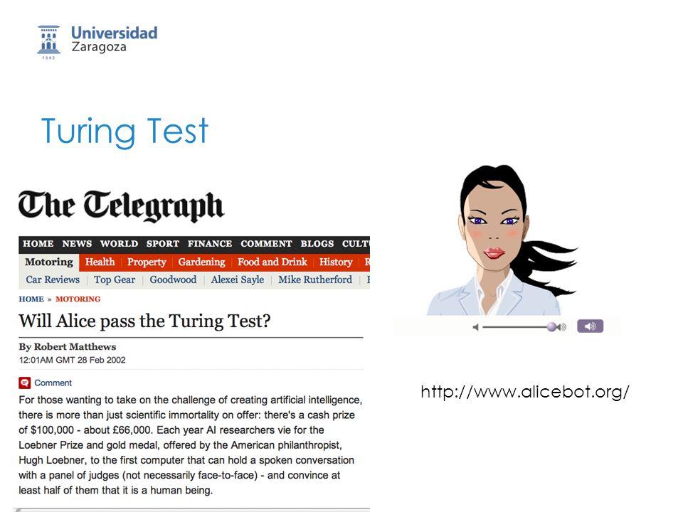 Turing Test http://www.alicebot.org/