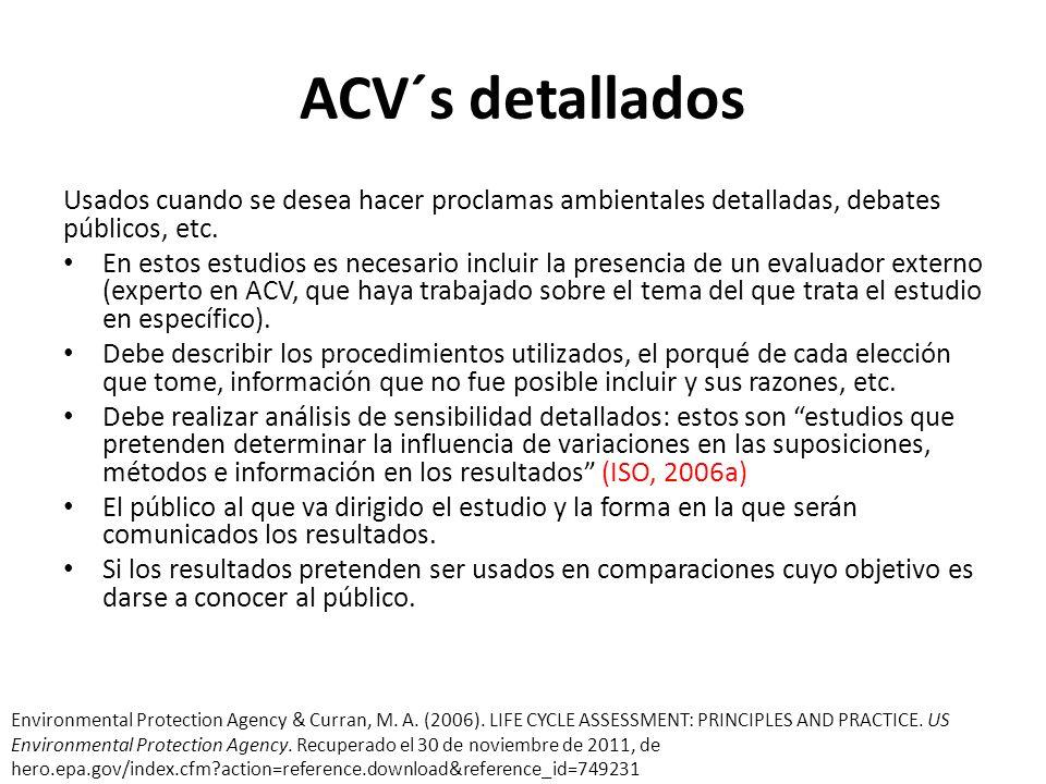 Análisis de Ciclo de Vida Híbridos HEIO-LCA Estos modelos están basados en los procesos de un ACV estándar y en un ACV económico de entradas y salidas.
