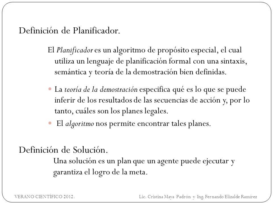 EJEMPLO 2 Logística VERANO CIENTÍFICO 2012.Lic. Cristina Maya Padrón y Ing.
