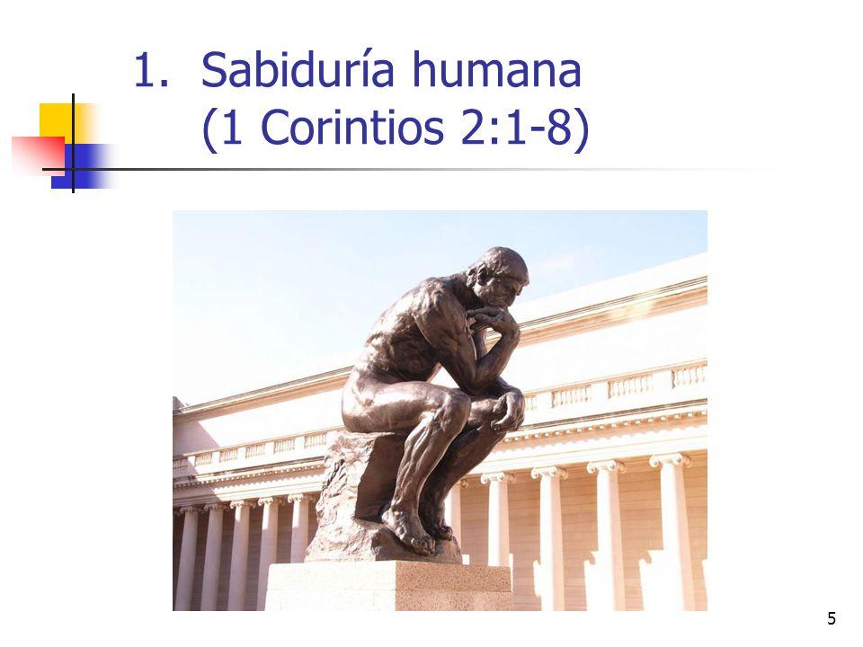 6 Así que, hermanos, cuando fui a vosotros para anunciaros el testimonio de Dios, no fui con excelencia de palabras o de sabiduría.