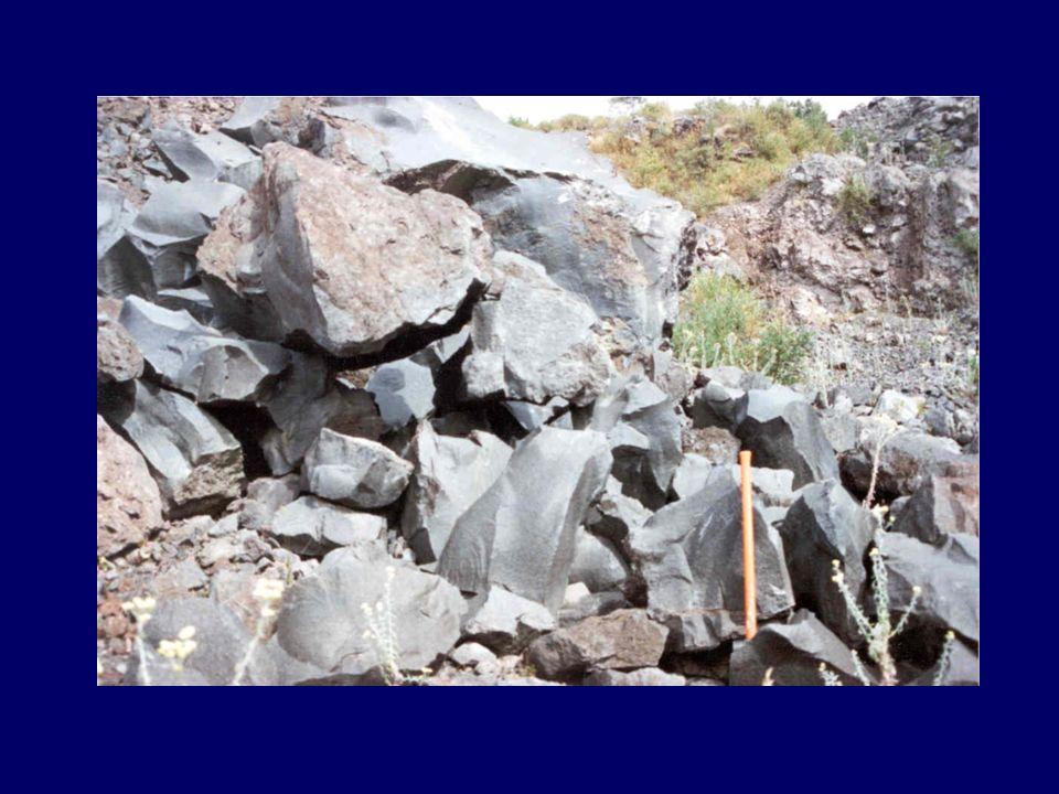 Tipos de concentrados: Mica Feldespato de potasio Plagioclasa Granate Circón Apatito Hornblenda Vidrios