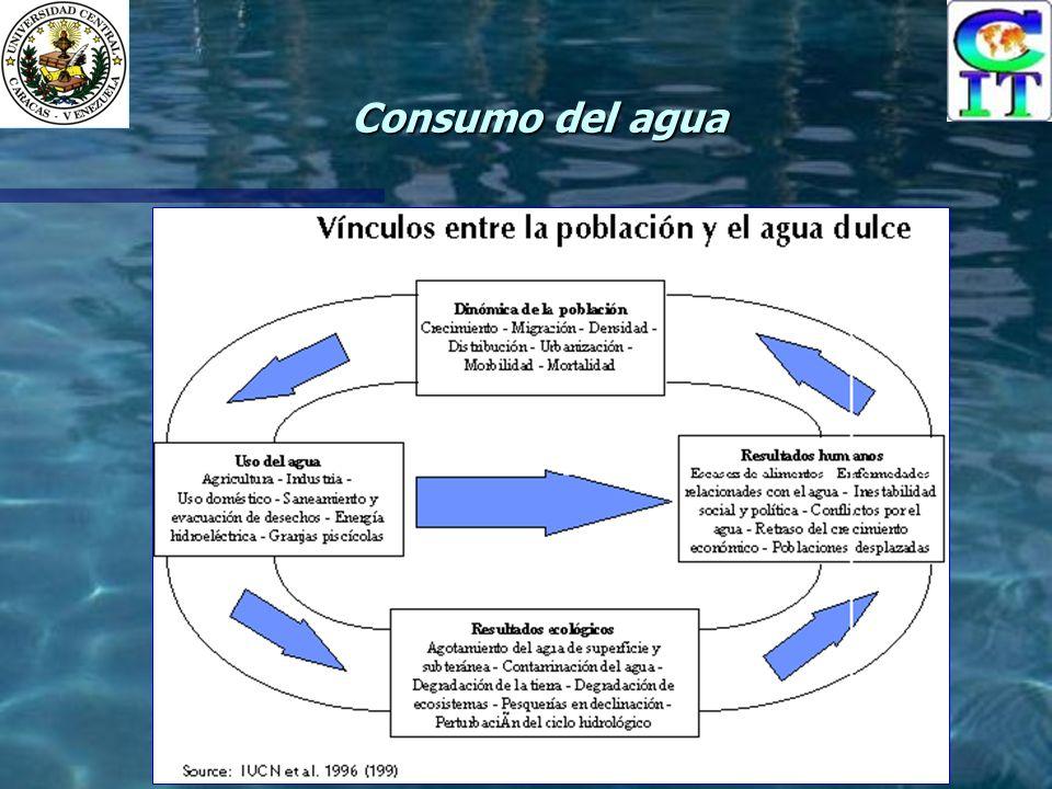 Consumo del agua
