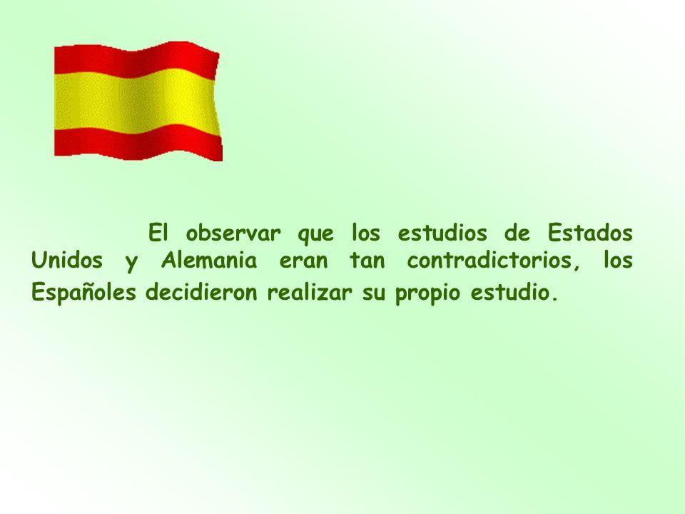 Así que después de casi tres semanas de intensa investigación y un coste de más de 6,00, el estudio español fue concluido.