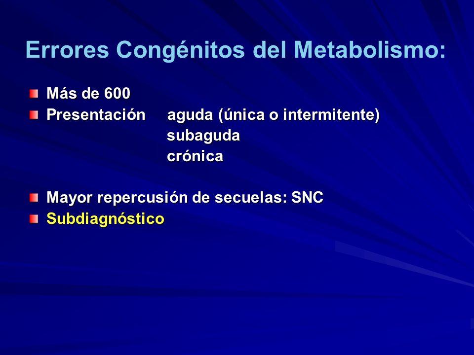 Más de 600 Presentación aguda (única o intermitente) subaguda subaguda crónica crónica Mayor repercusión de secuelas: SNC Subdiagnóstico Errores Congé