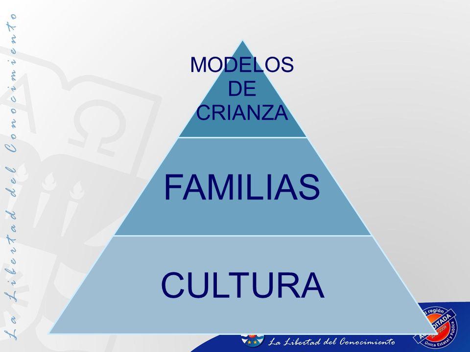 MODELOS DE CRIANZA FAMILIAS CULTURA