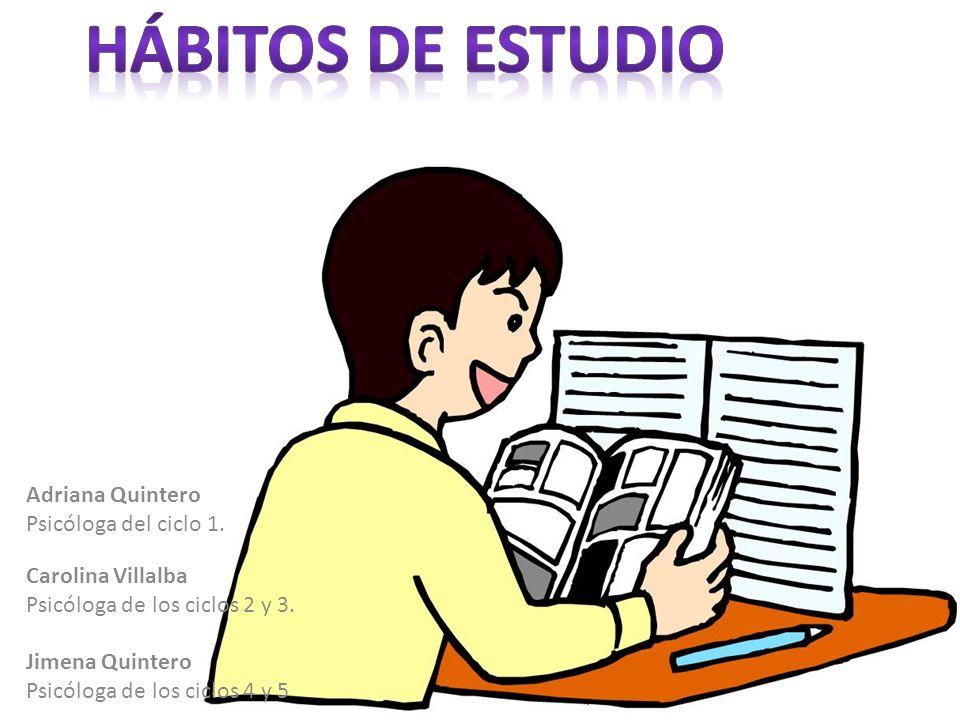 Adriana Quintero Psicóloga del ciclo 1. Carolina Villalba Psicóloga de los ciclos 2 y 3. Jimena Quintero Psicóloga de los ciclos 4 y 5