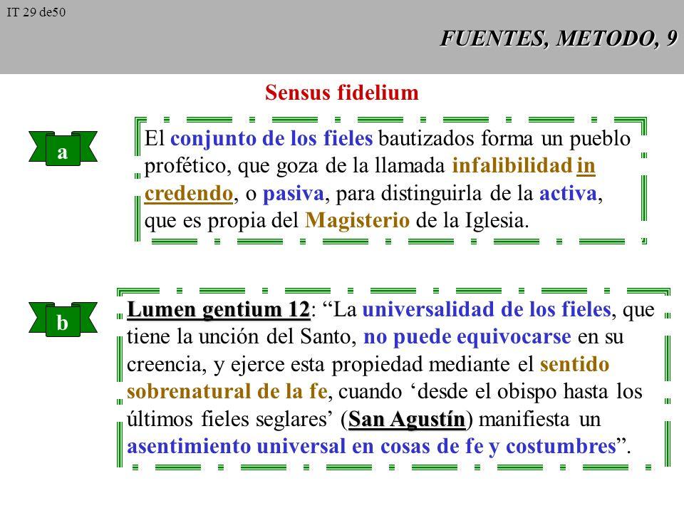 FUENTES, METODO, 8 Sagrada Liturgia Es la oración solemne y pública de la Iglesia, recibe su sentido del culto perfecto que Jesucristo tribu- ta al Pa