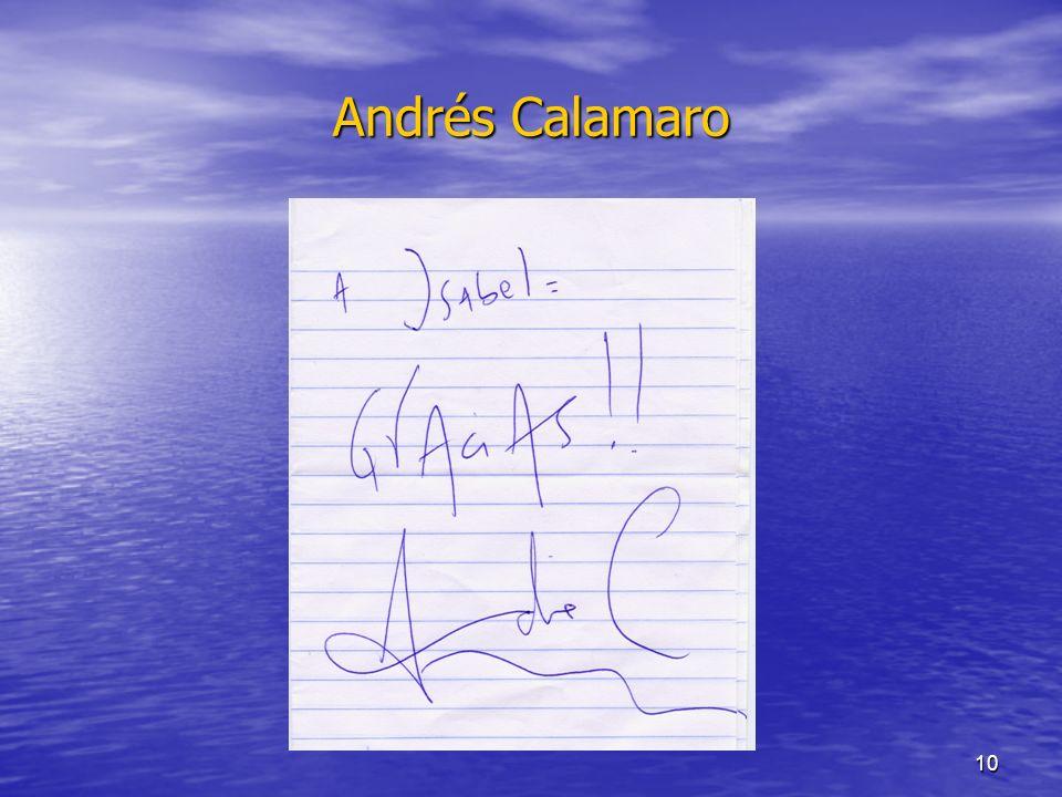10 Andrés Calamaro