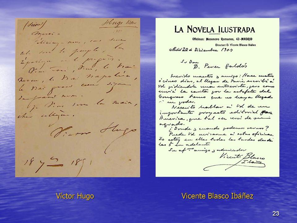 23 Víctor Hugo Vicente Blasco Ibáñez