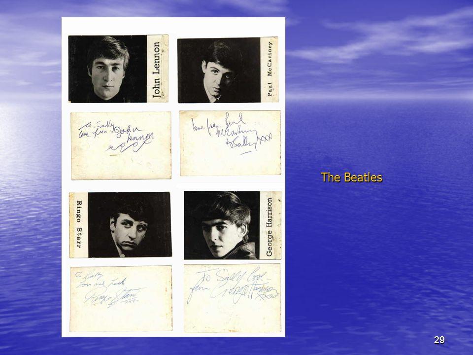 29 The Beatles