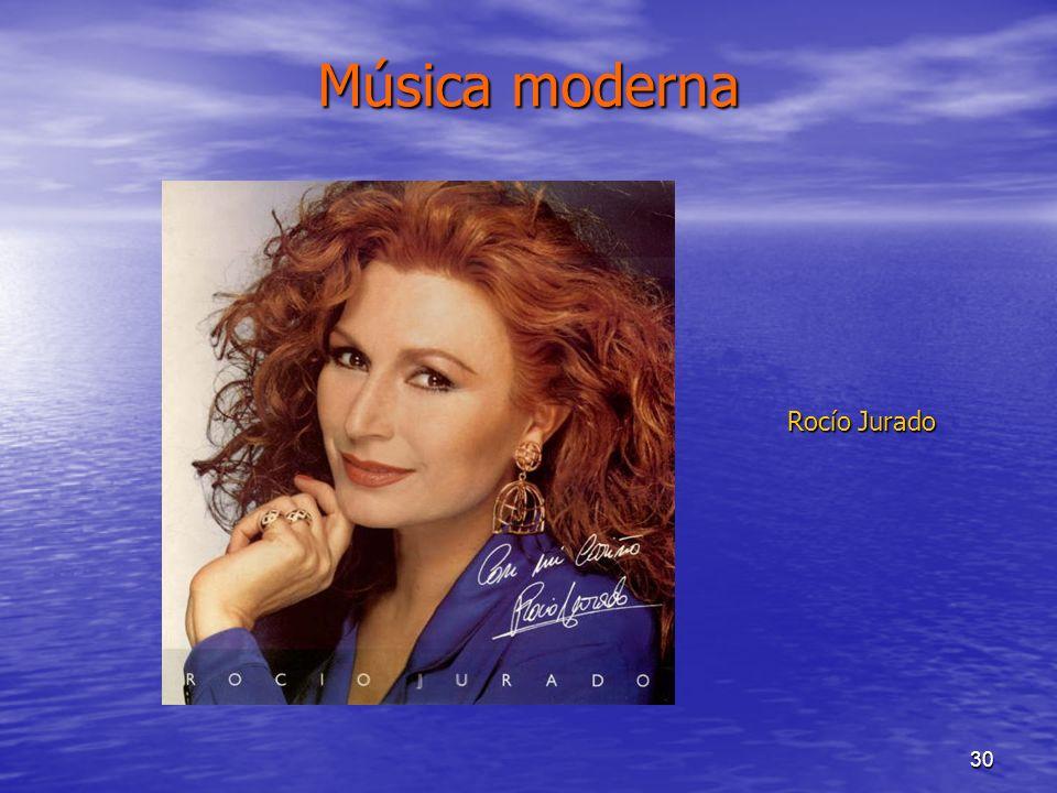 30 Música moderna Rocío Jurado