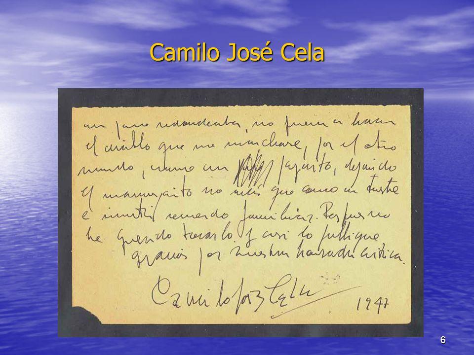 6 Camilo José Cela