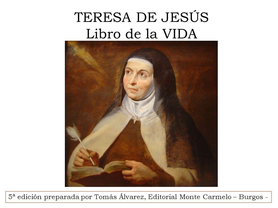 Escuela diocesana de oración Curso 2008-2009 La vida de oración: Libro de la Vida Santa Teresa de Jesús 20 Lecciones