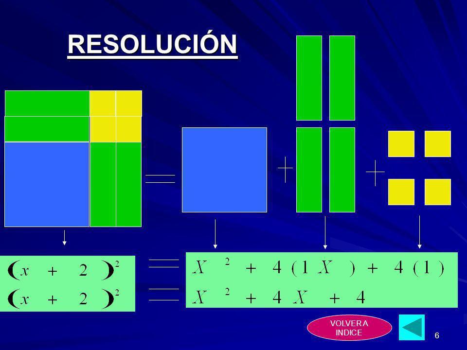 6 RESOLUCIÓN VOLVER A INDICE