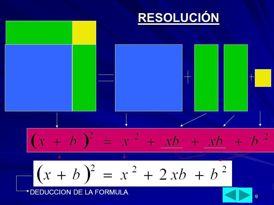 9 RESOLUCIÓN DEDUCCION DE LA FORMULA