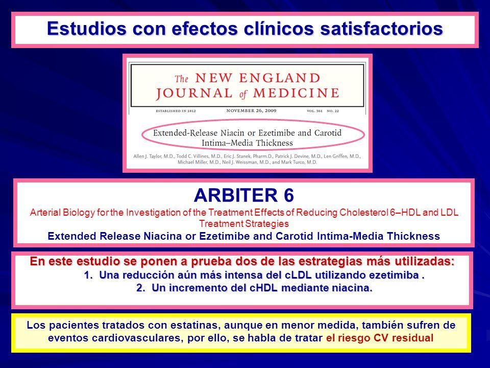 En este estudio se ponen a prueba dos de las estrategias más utilizadas: 1.Una reducción aún más intensa del cLDL utilizando ezetimiba.