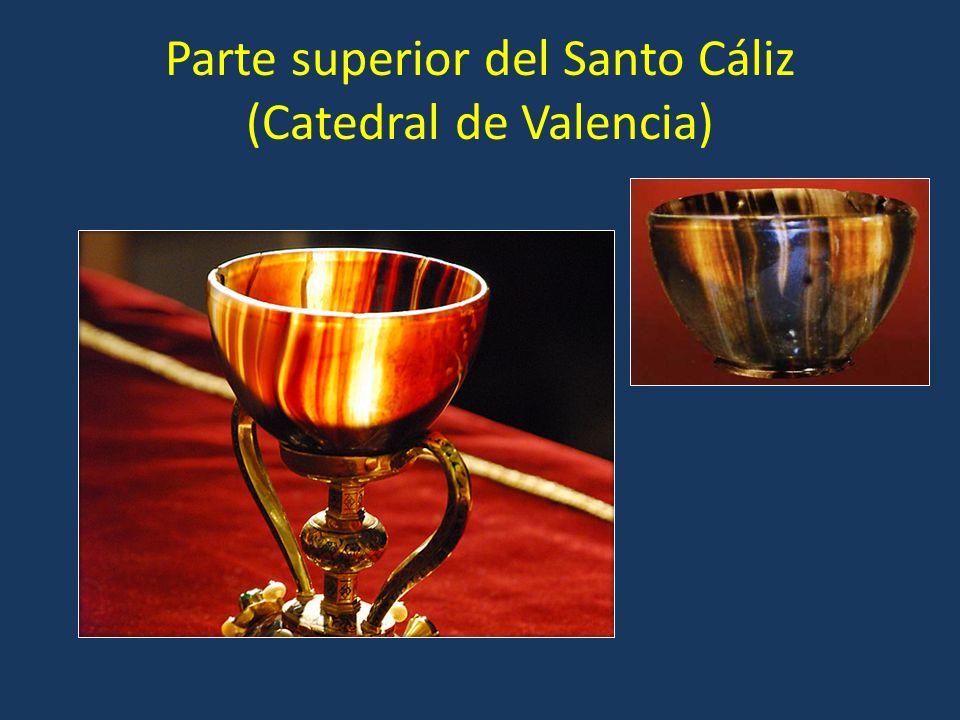 Parte superior del Santo Cáliz (Catedral de Valencia)