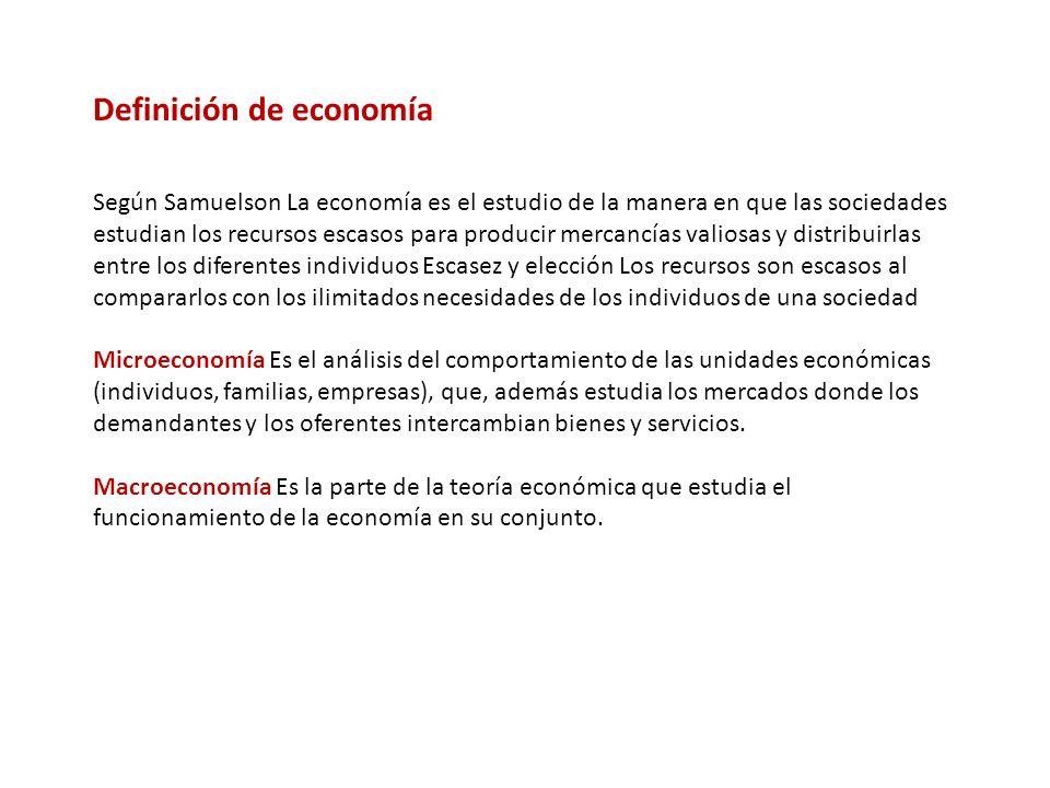 ECONOMIA MATEMÁTICA Es una aproximación al análisis económico El economista emplea símbolos matemáticos cuando expone un problema.
