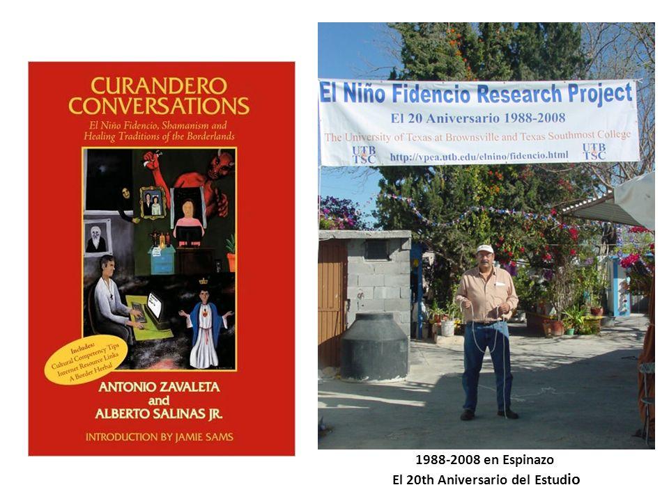 1988-2008 en Espinazo El 20th Aniversario del Estud io